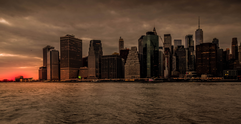Kostenloses Stock Foto zu abend, architektur, brooklyn, gebäude