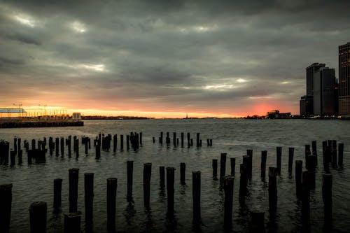 Gratis stockfoto met amerika, Brooklyn, new york city achtergrond, zeegezicht