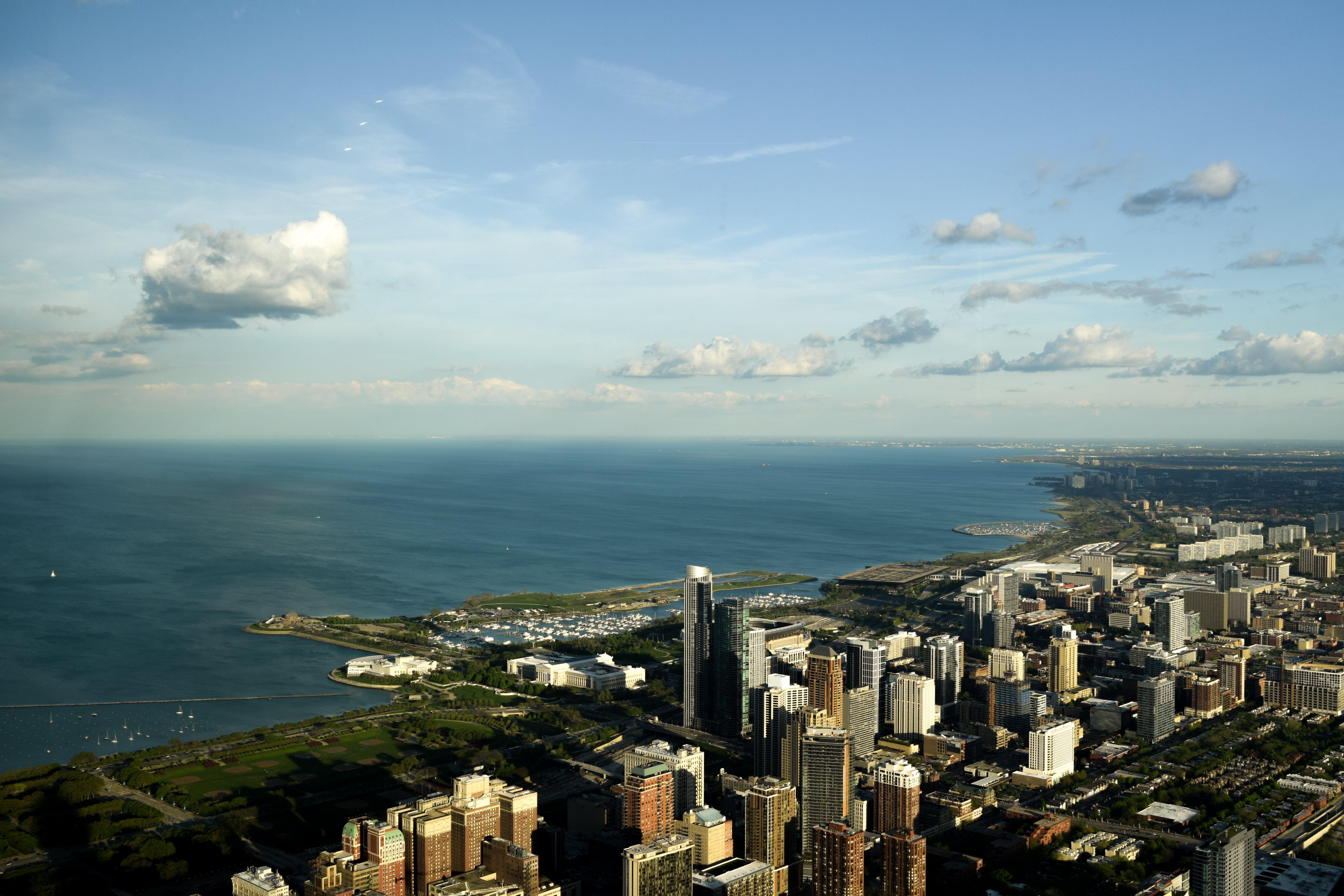 Free stock photo of big city, chicago, city, city center