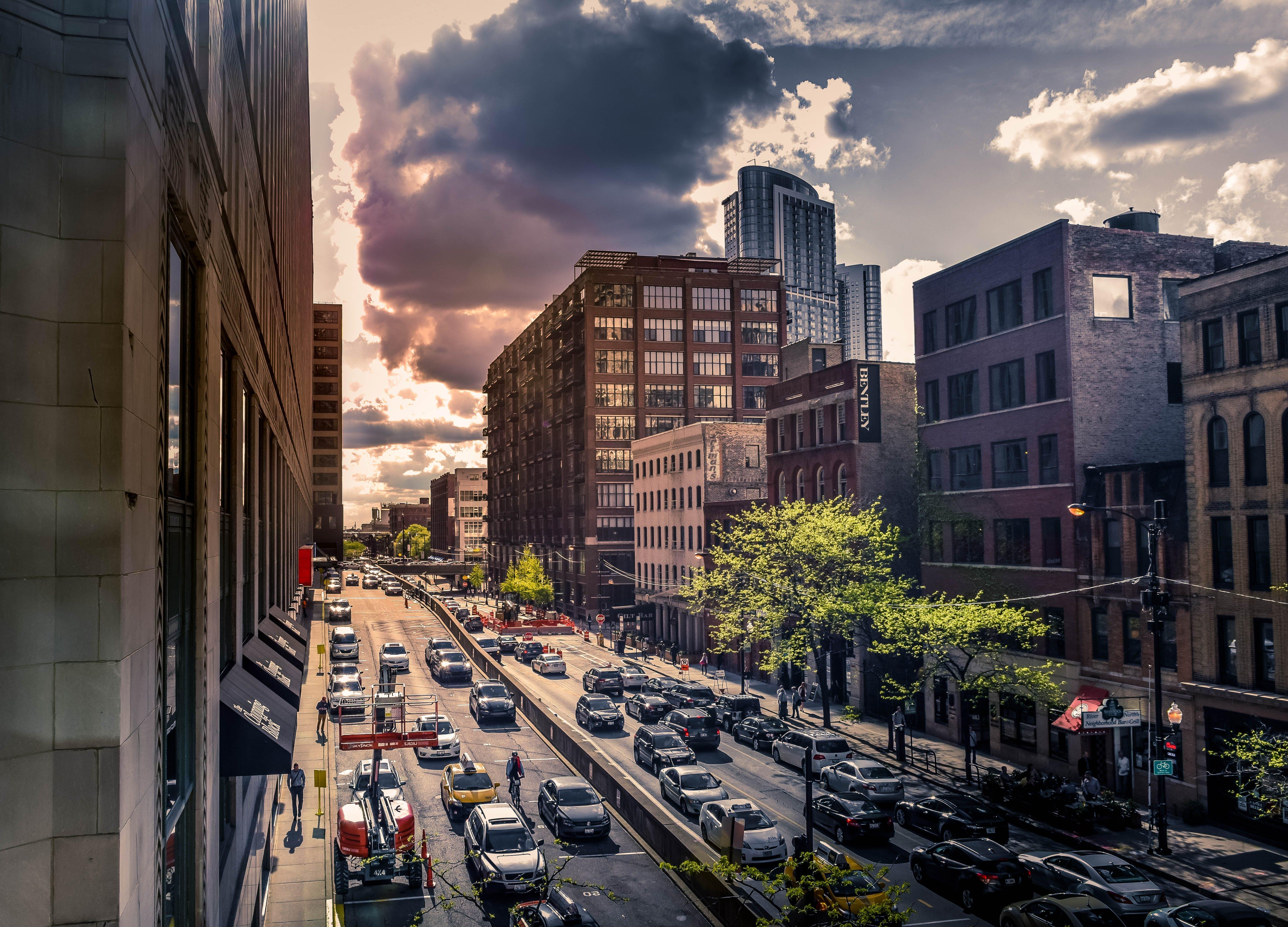 Free stock photo of chicago, city center, city life, cityview