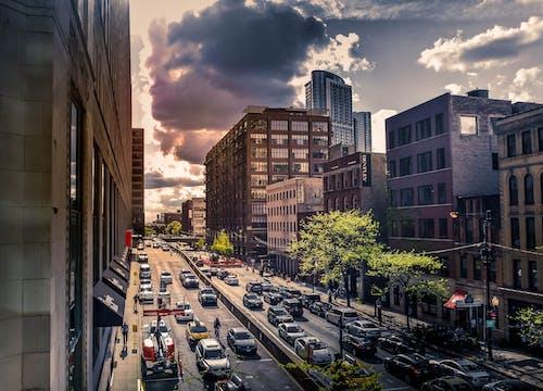 Gratis stockfoto met centrum, chicago, stadsleven, stadszicht
