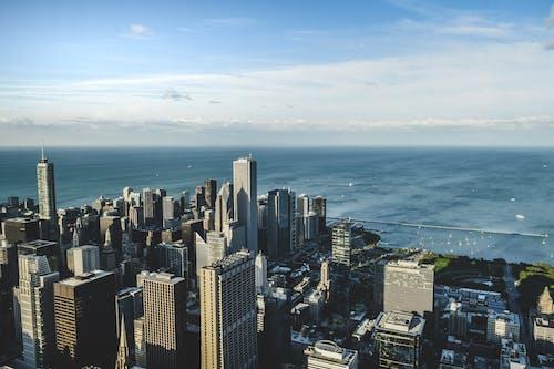 Gratis stockfoto met chicago, city scape, cityscrapers, plaats