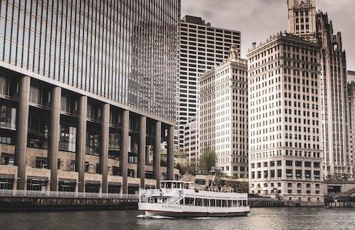 Gratis stockfoto met architectuur, attractie, boot, eigentijds