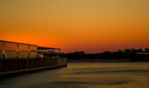 Darmowe zdjęcie z galerii z montreal, zachód słońca