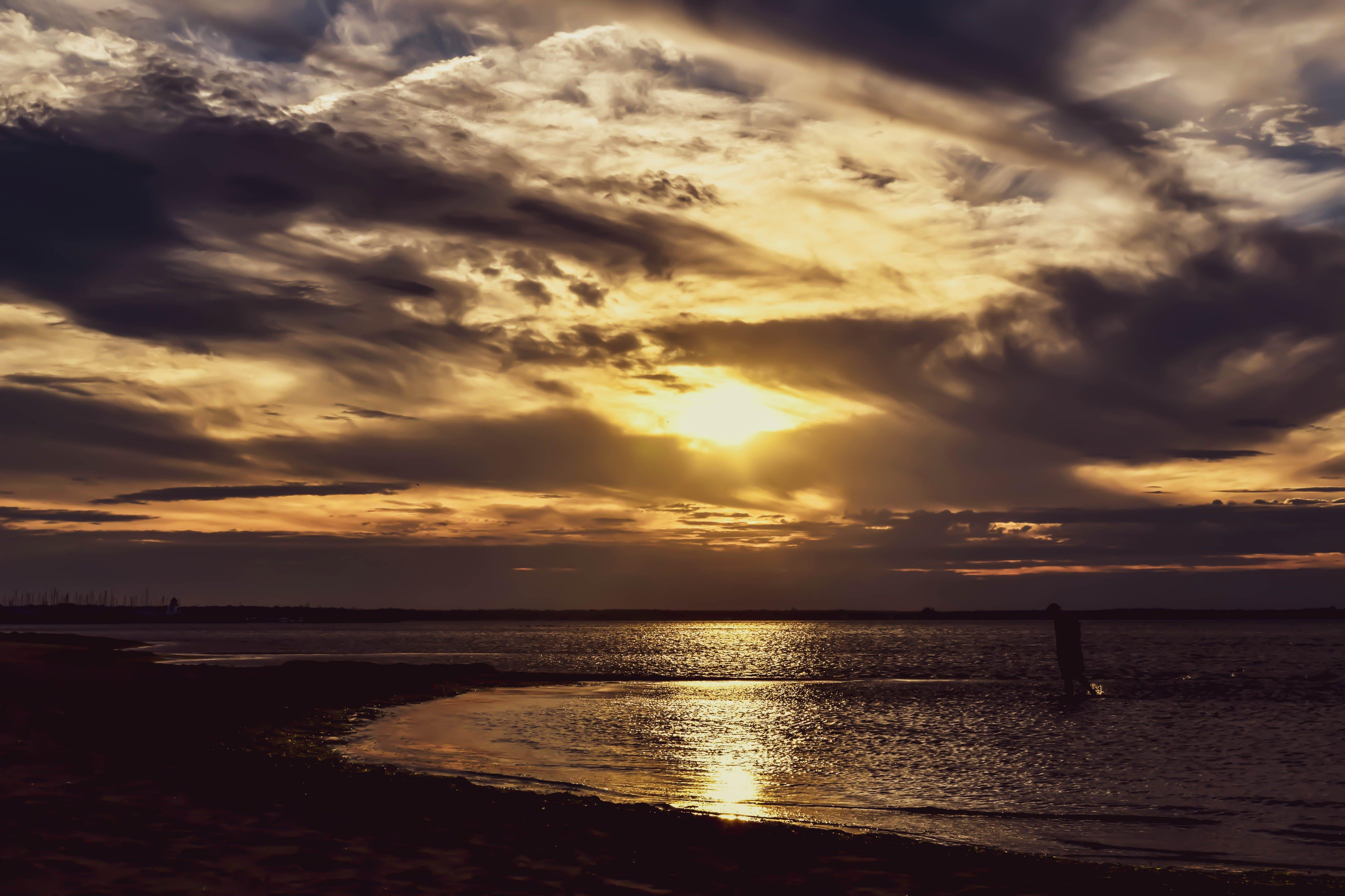Free stock photo of beautiful view, golden sunset, nature view, new brunswick