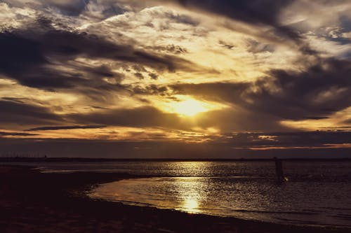 คลังภาพถ่ายฟรี ของ brunswick ใหม่, shediac, ชายฝั่งทะเล, ตะวันลับฟ้า