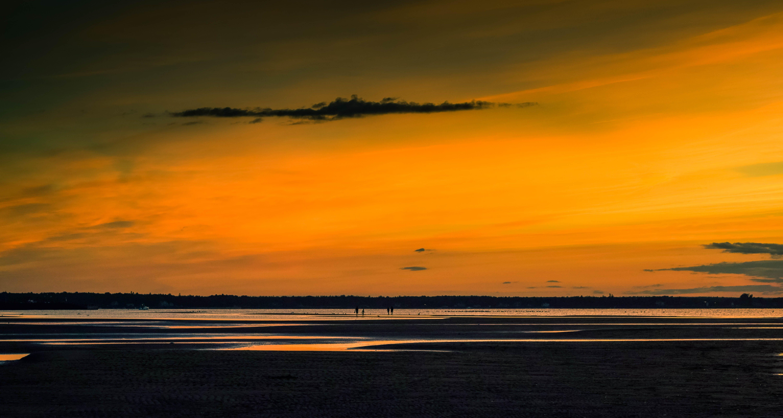 Free stock photo of beautiful view, golden sunset, new brunswick, ocean