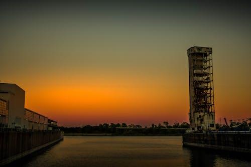 Ilmainen kuvapankkikuva tunnisteilla auringonlasku, kiva näkymä, Montreal, oldport
