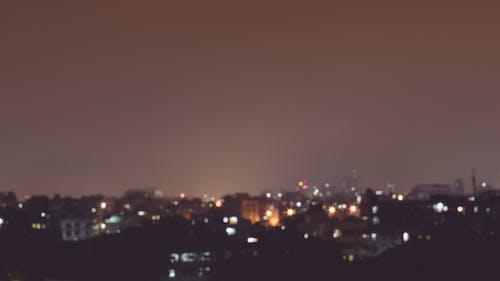 Imagine de stoc gratuită din estetică, expunere lungă, longshutter, luminile orașului