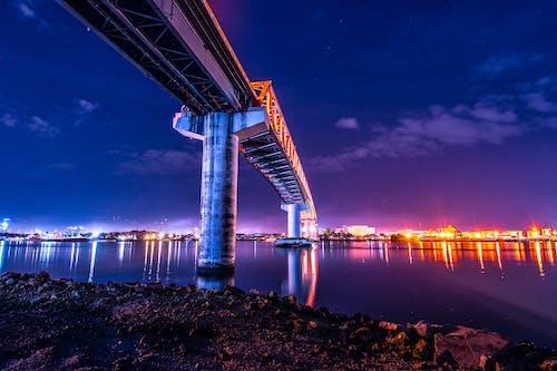 Základová fotografie zdarma na téma architektura, cestování, dopravní systém, fialová