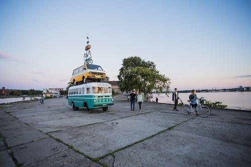 경치, 관광, 교통체계, 나무의 무료 스톡 사진