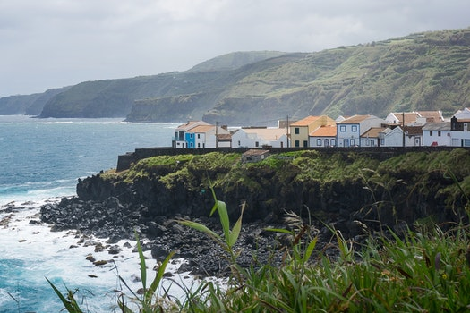 Free stock photo of village, island, portugal, Azores