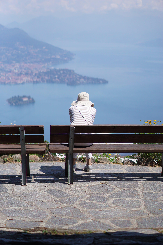 Free stock photo of blue, good-looking, italian lake, looking