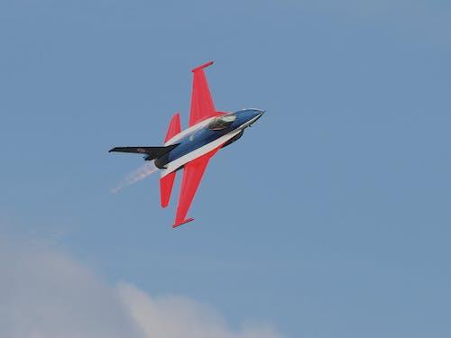 Foto d'estoc gratuïta de aviació, avió, cel, raig