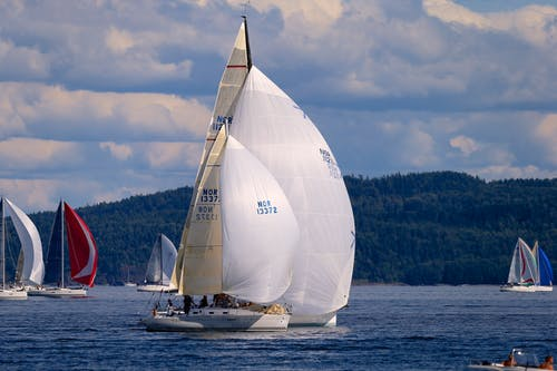 Free stock photo of norway, sailing, The Oslofjord