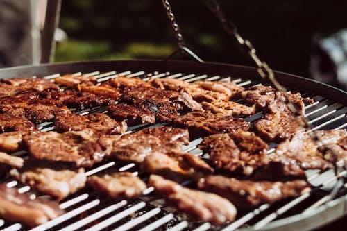 Darmowe zdjęcie z galerii z barbecue, gorąco, grillowanie, grillowany