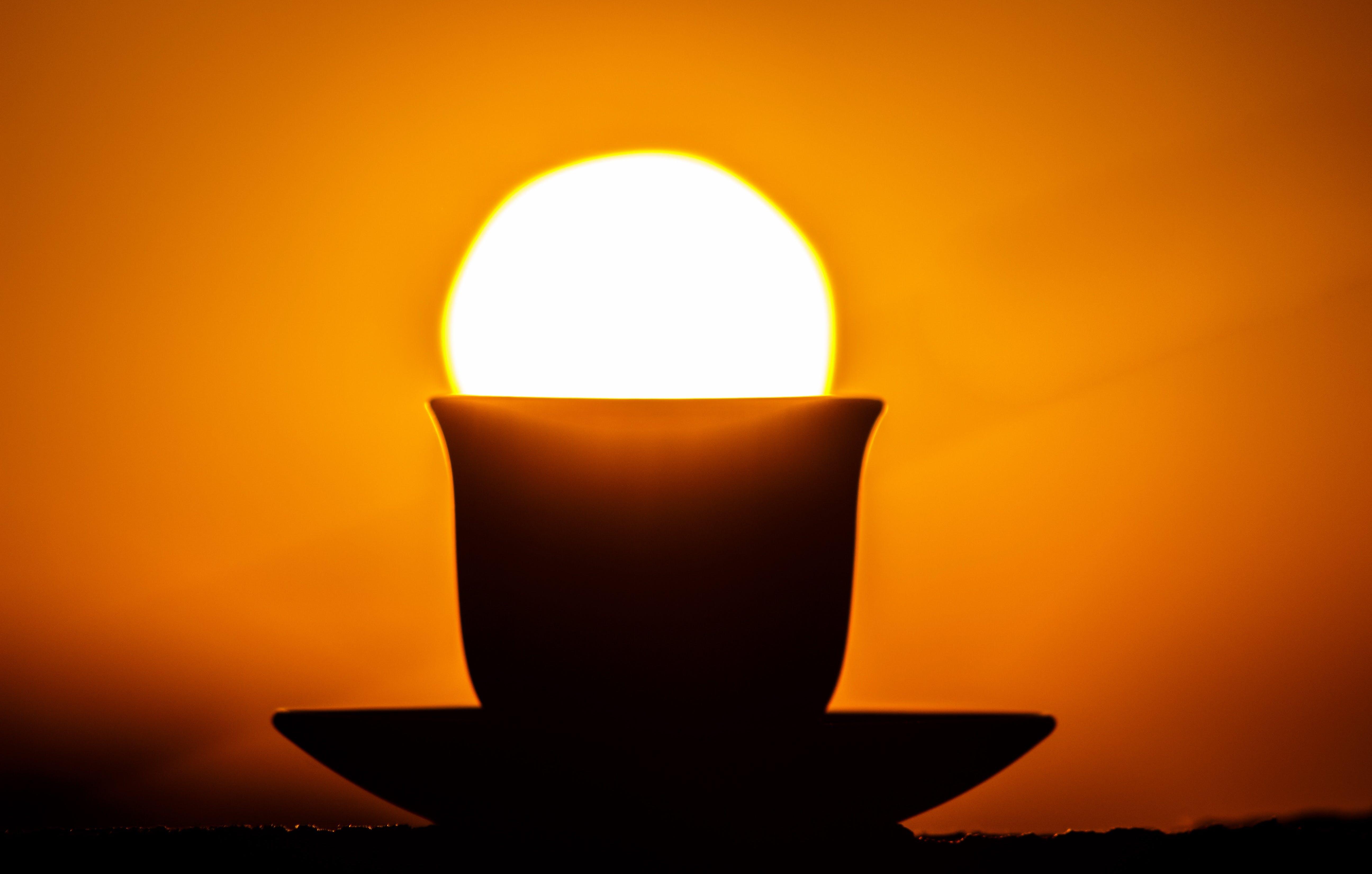 Základová fotografie zdarma na téma hrnek, káva, pití, rozbřesk