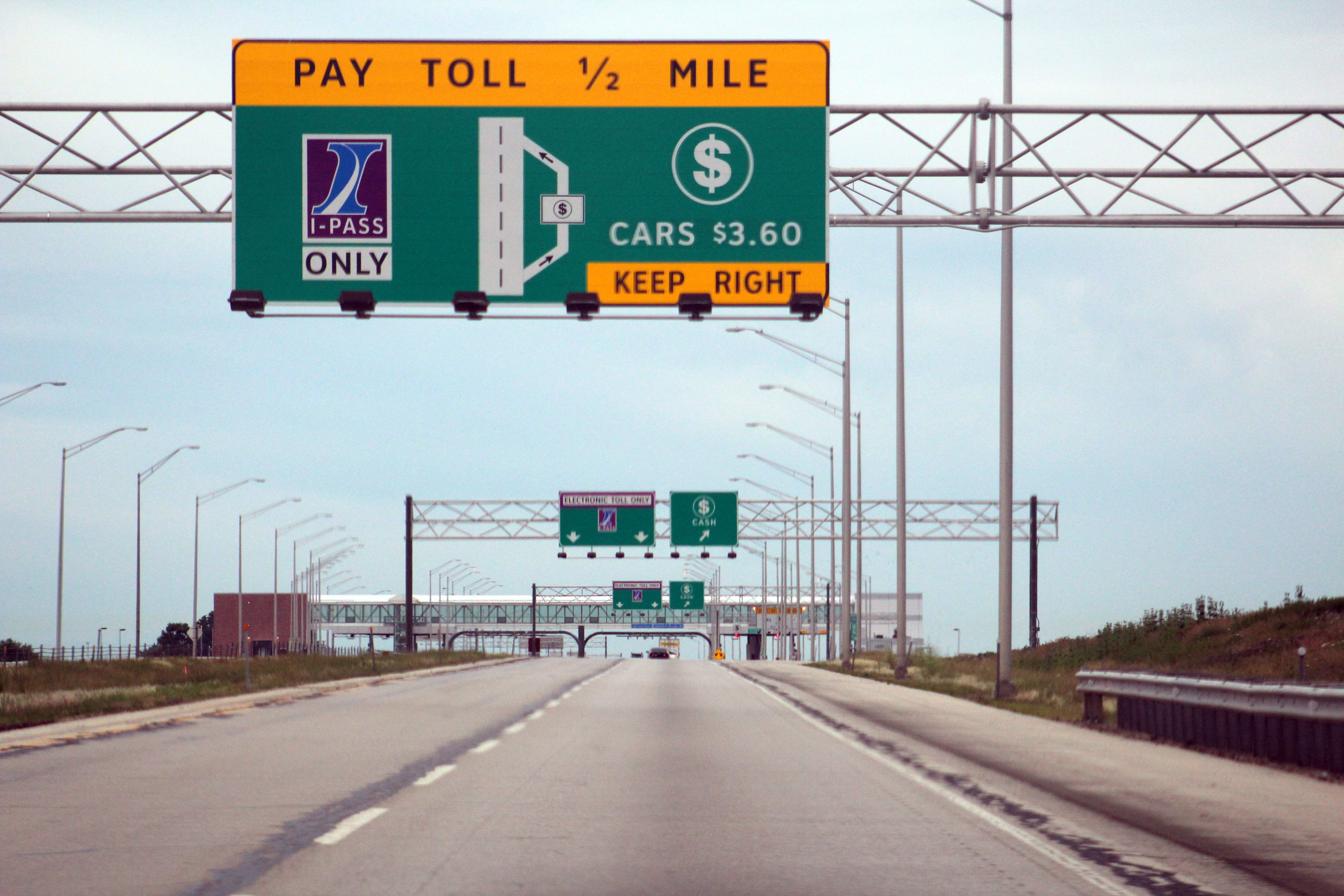 Free stock photo of road, chicago, toll