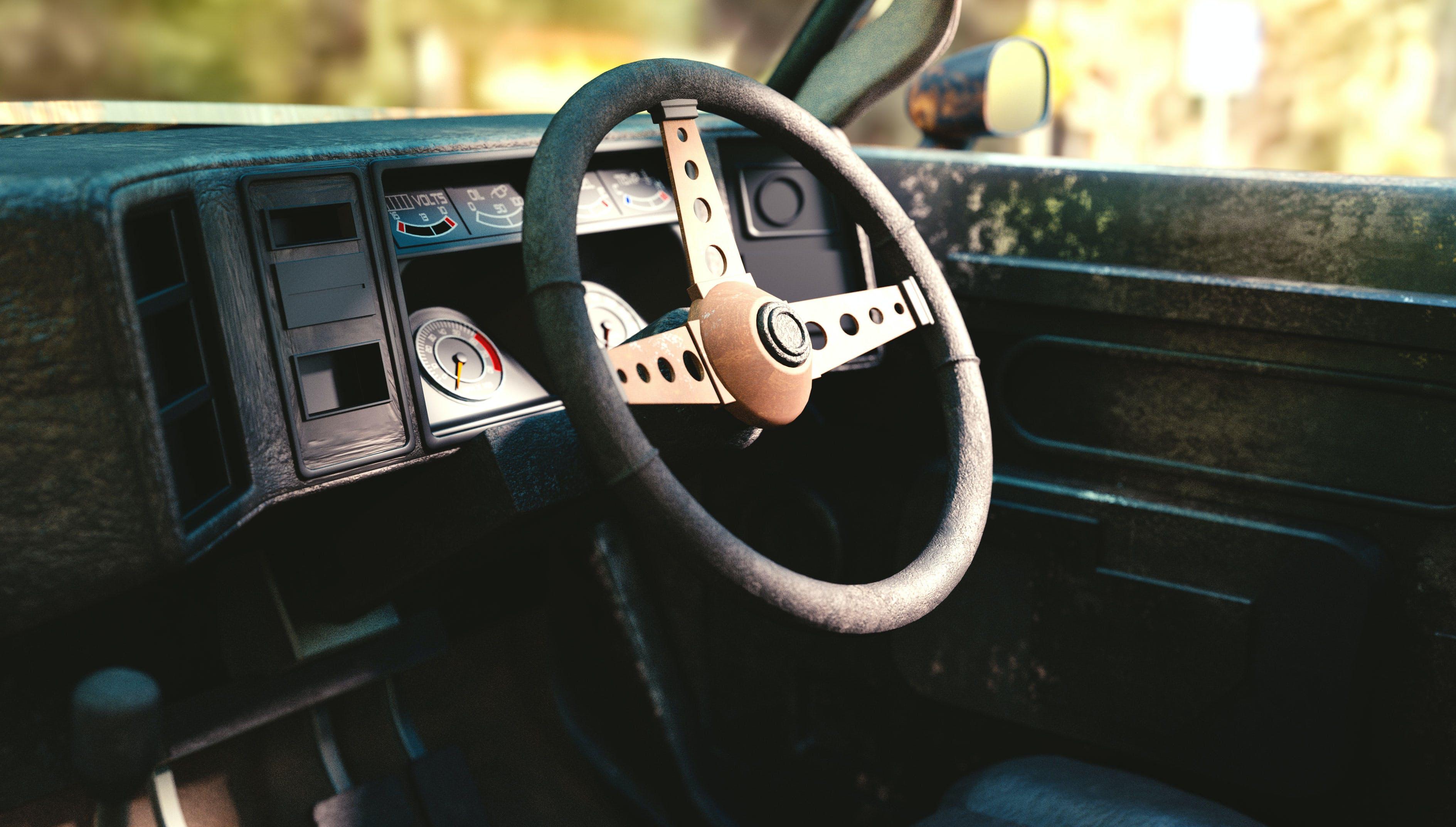 Kostenloses Stock Foto zu auto, fahrt, raster, raster auto
