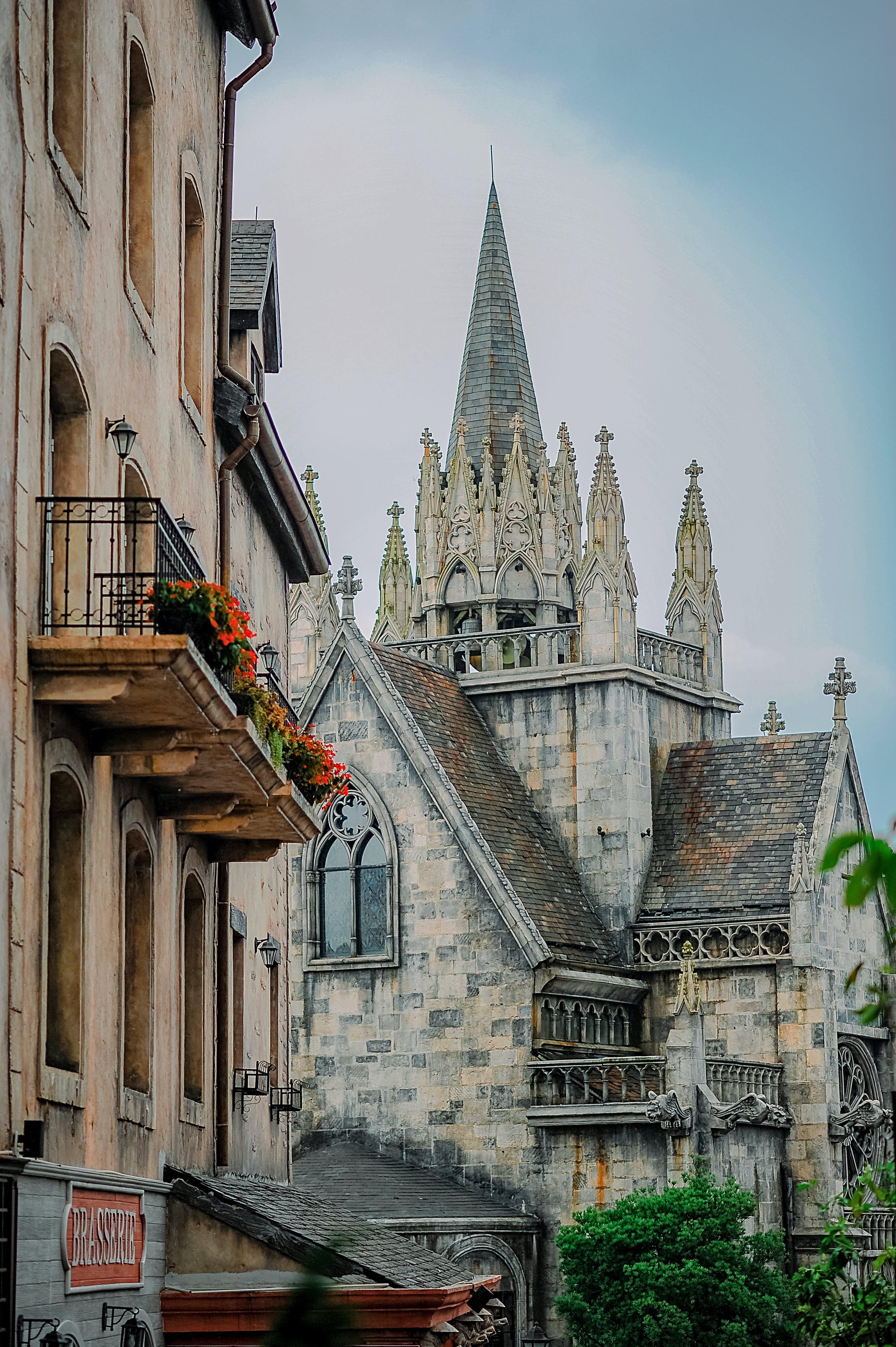 Gratis lagerfoto af arkitektur, bygning, goth, katedral