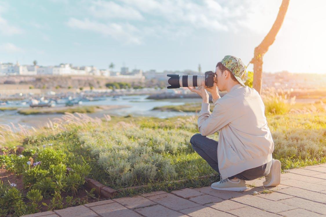 Gratis lagerfoto af DSLR, fotograf, kamera