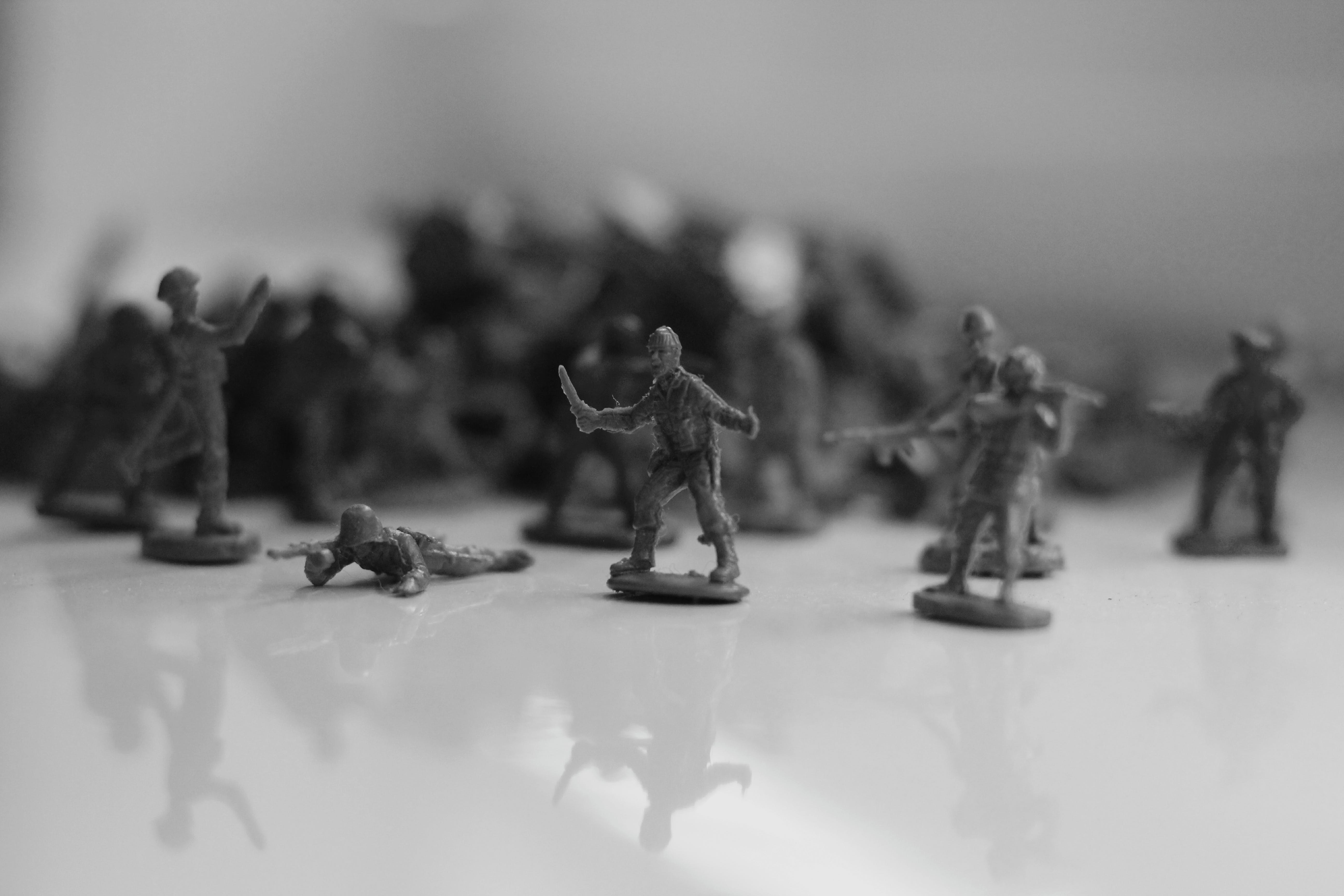 Photography of Soldier Toys