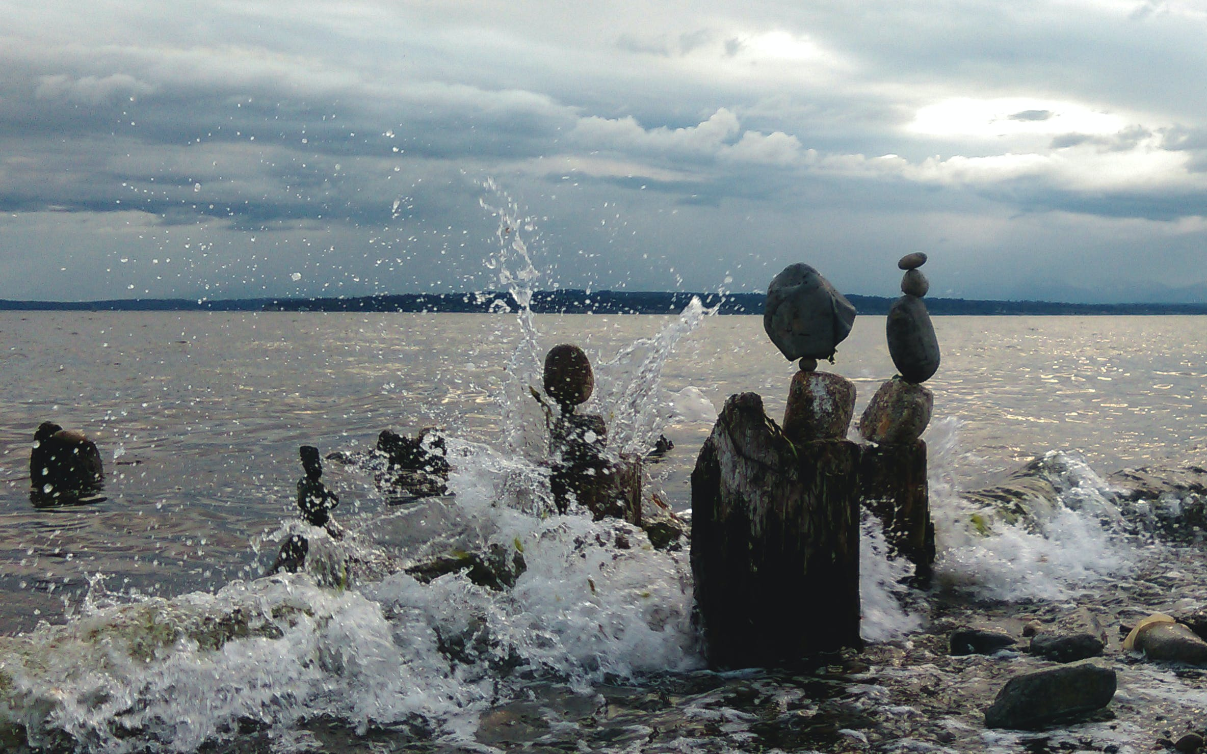 Free stock photo of nature, ocean, rocks, waves