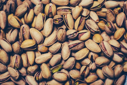 Free stock photo of food, nuts, snack, pistachios