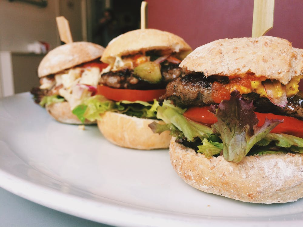 burger, burgers, dinner