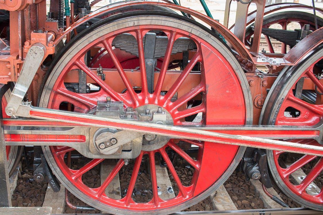 parní vlakové kolo, vlakové kolo