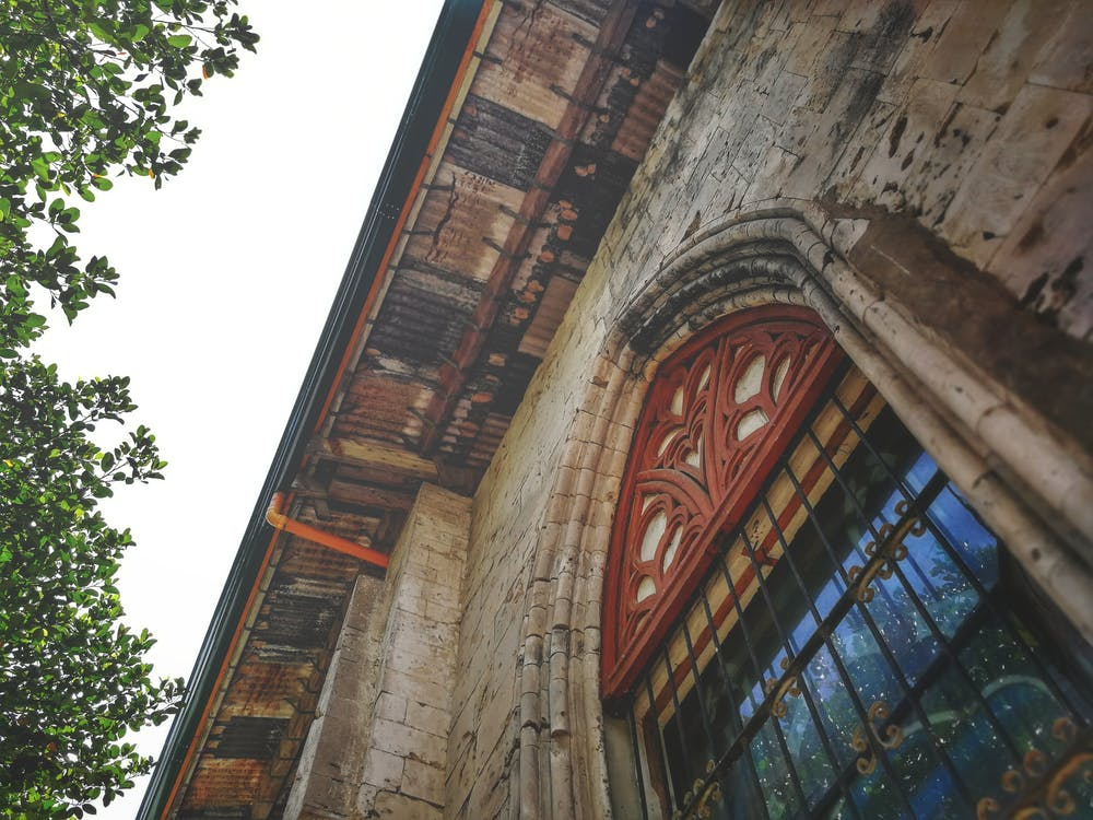 ar, oude architectuur, oude kerk