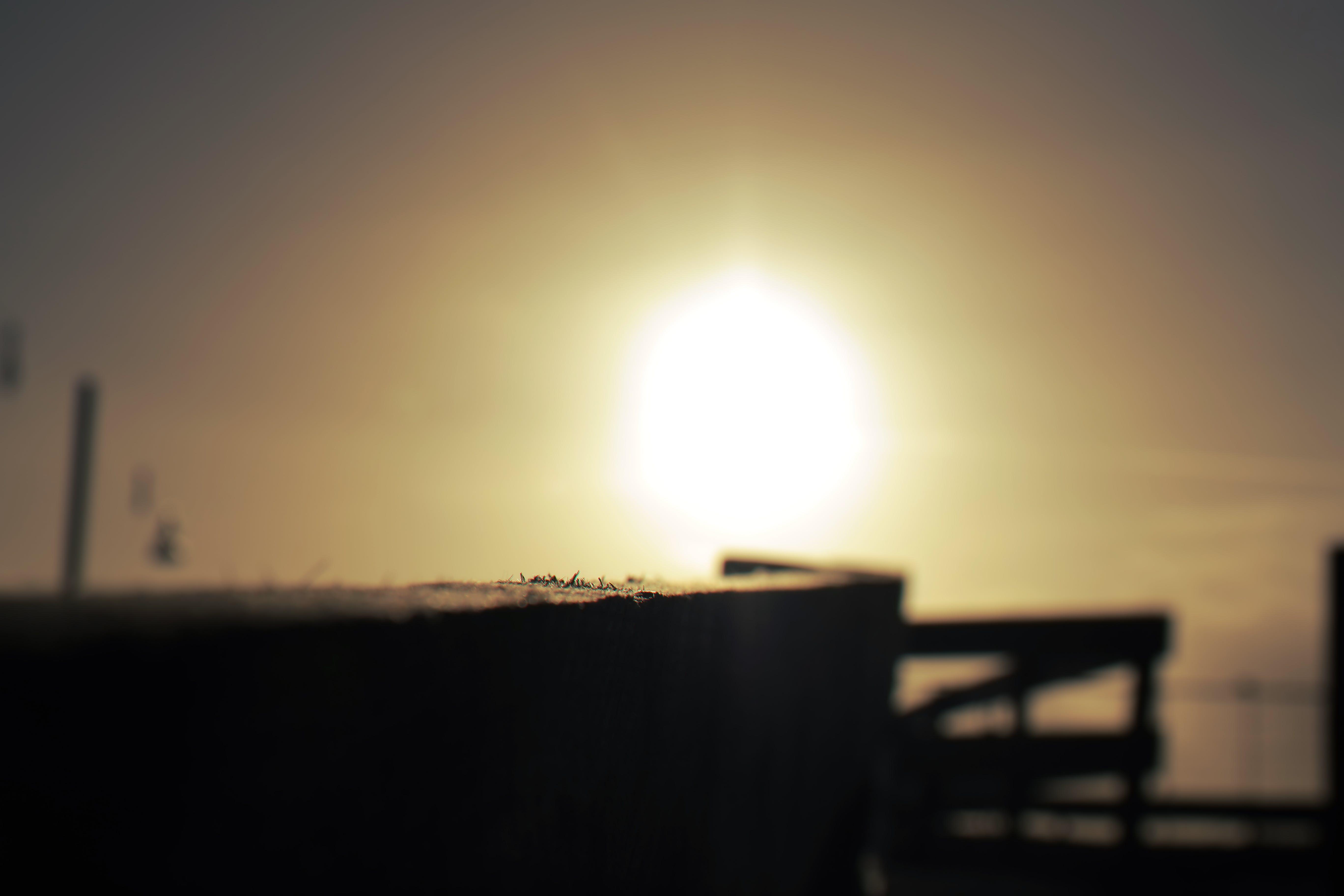 Free stock photo of sunset, bokeh