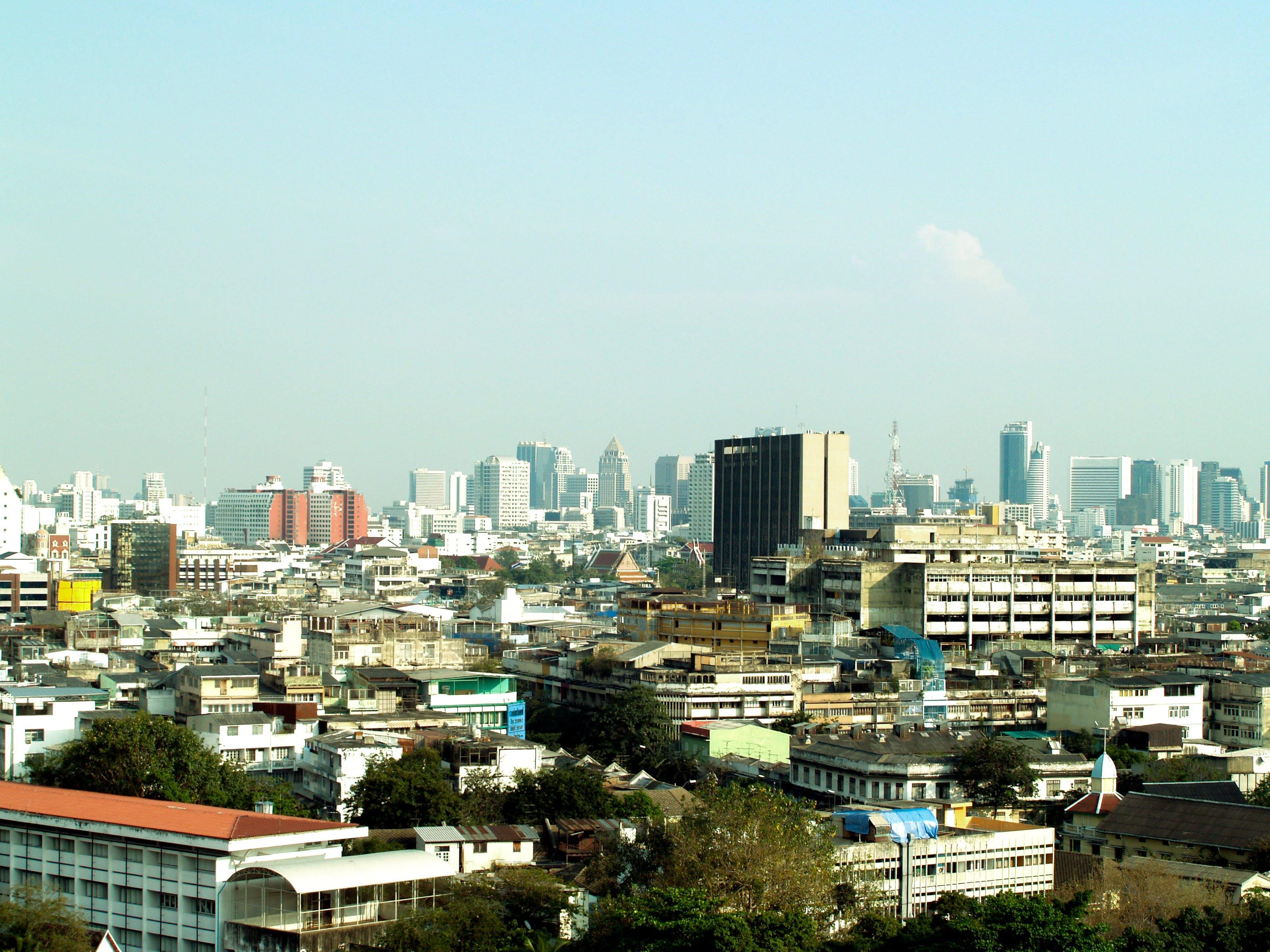 Free stock photo of city, road, traffic, landscape