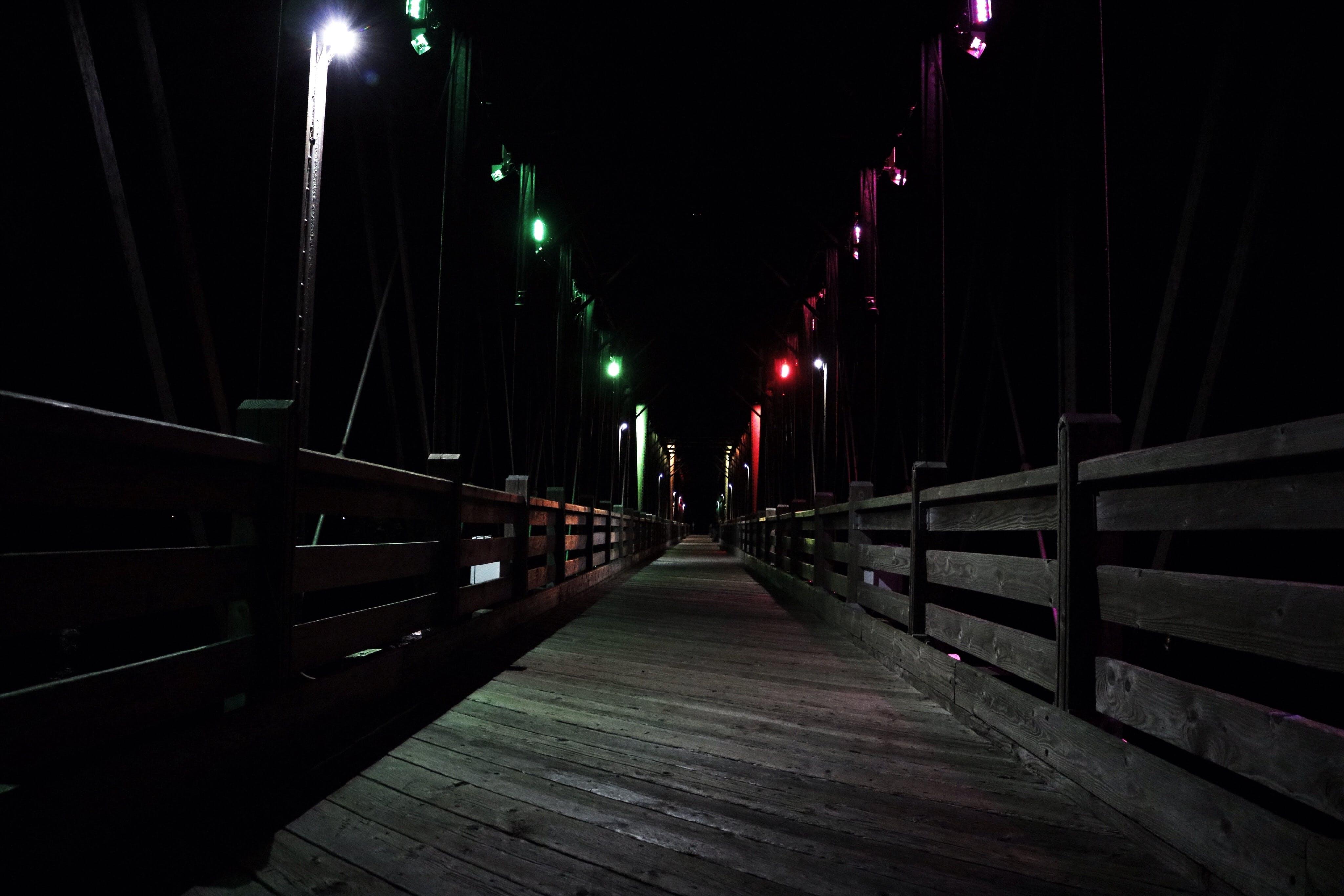 Free stock photo of architecture, night
