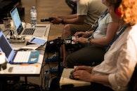 people, desk, technology