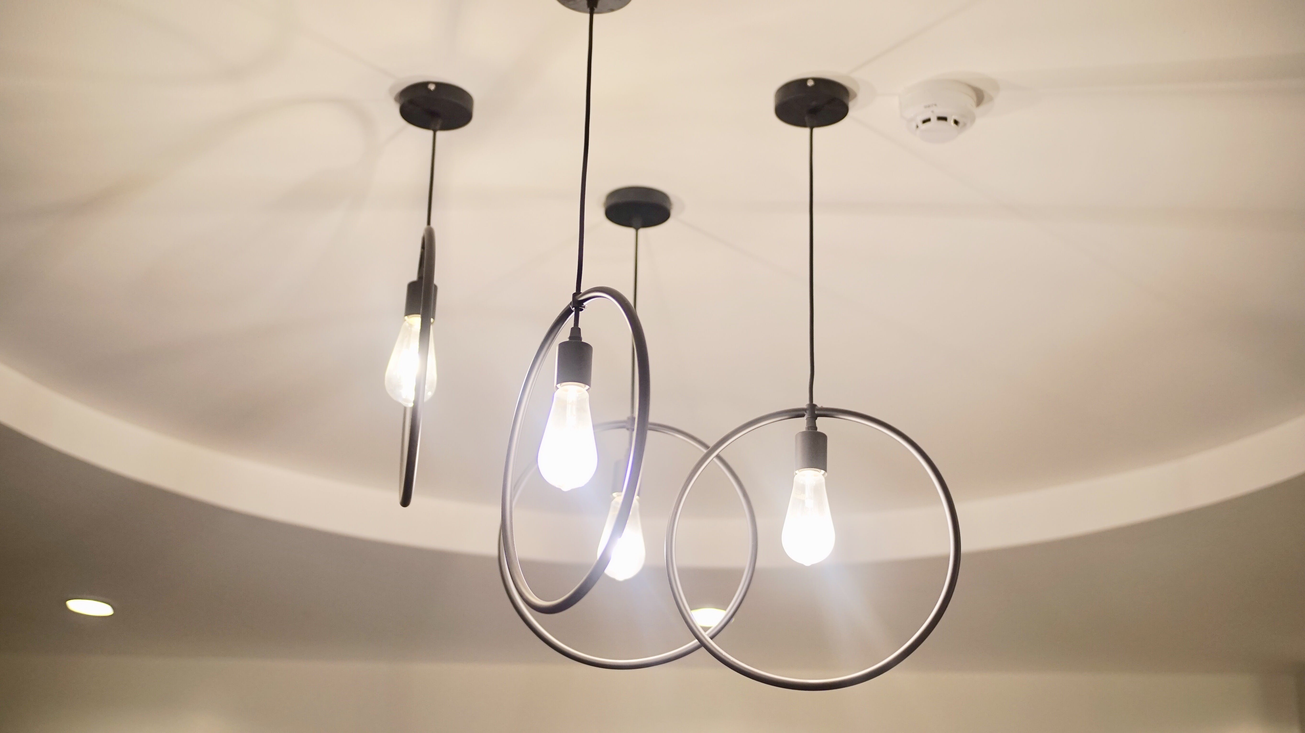 Free stock photo of ceiling lights, Drop Lamp, Pendant Light