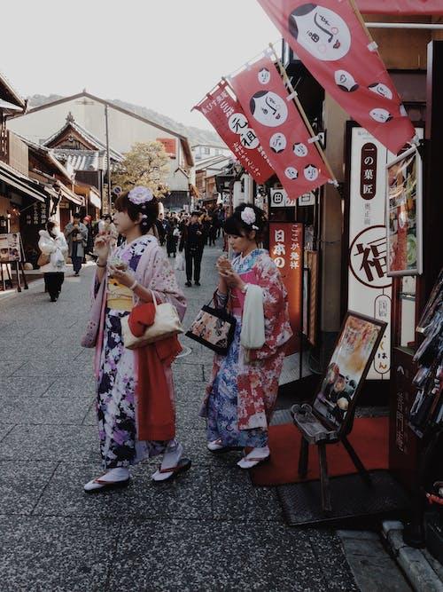 Immagine gratuita di celebrazione, cerimonia, cultura giapponese, donne