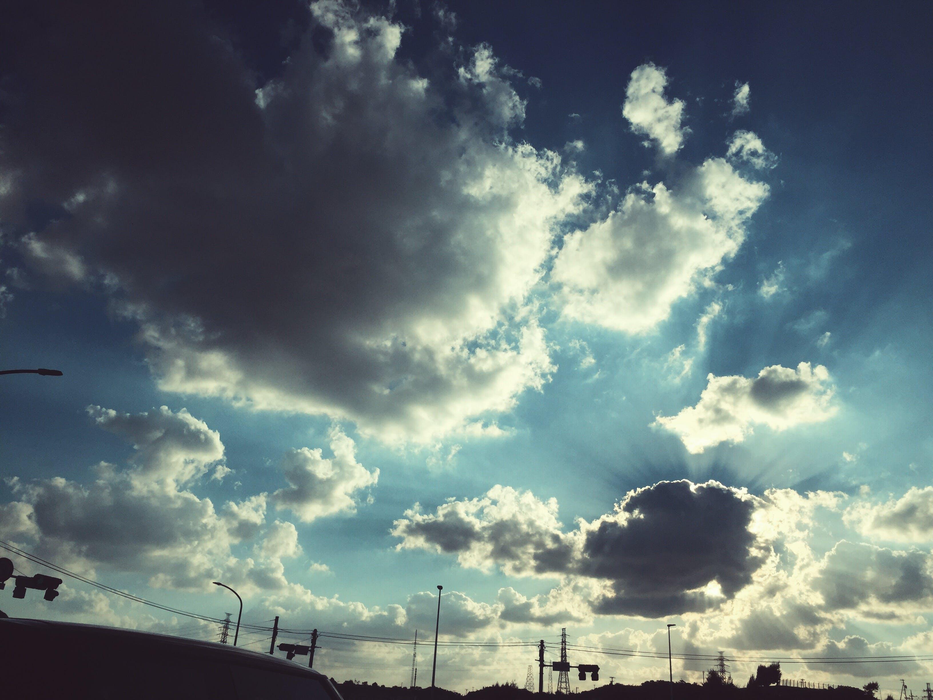 blue, cloud, sky