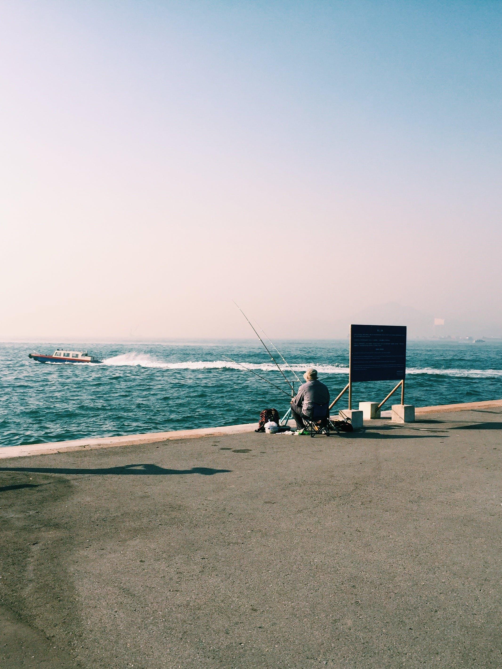Gratis lagerfoto af båd, fisker, fiskeri, hav