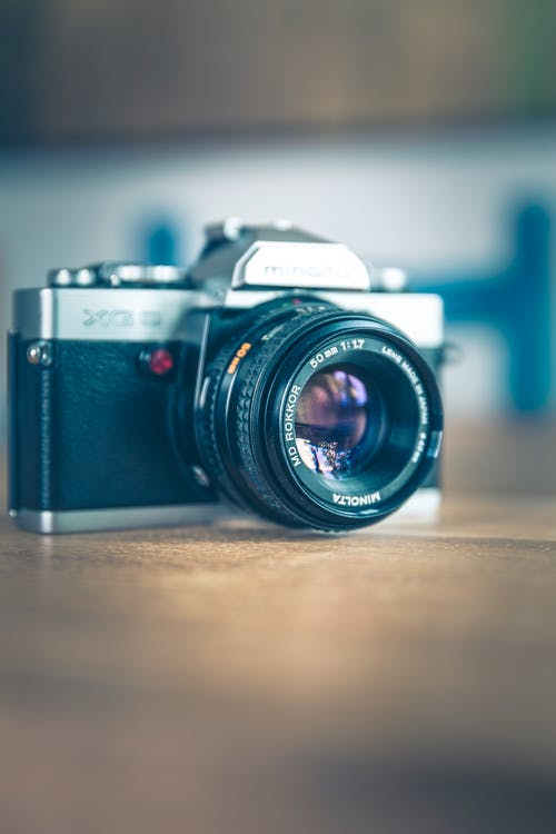 Бесплатное стоковое фото с камера, классический, линза, максросъемка