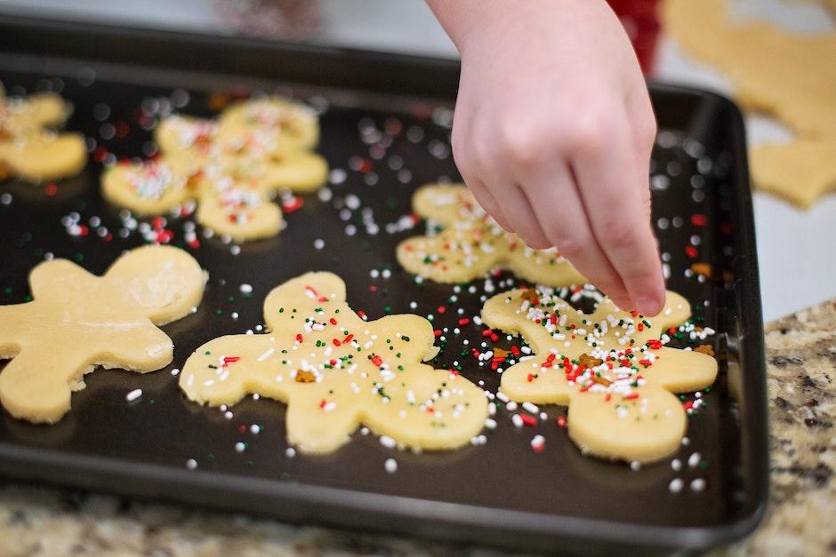 baking, christmas, cookies