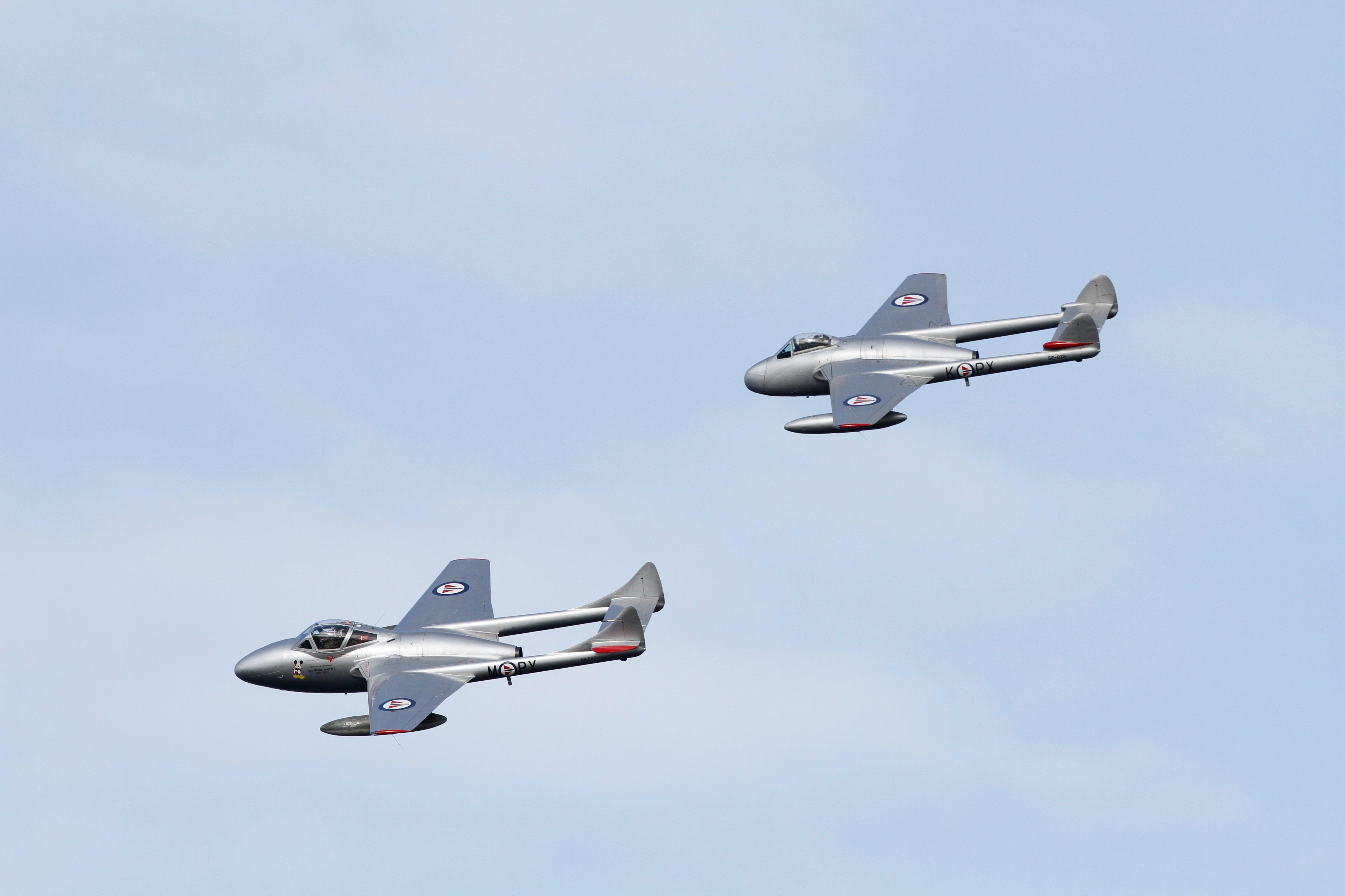 ジェット, ノルウェー王国空軍, フライト