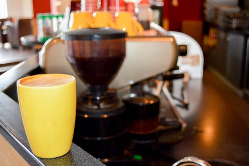 Free stock photo of cafe latte, cappuccino, coffee, coffee grinder