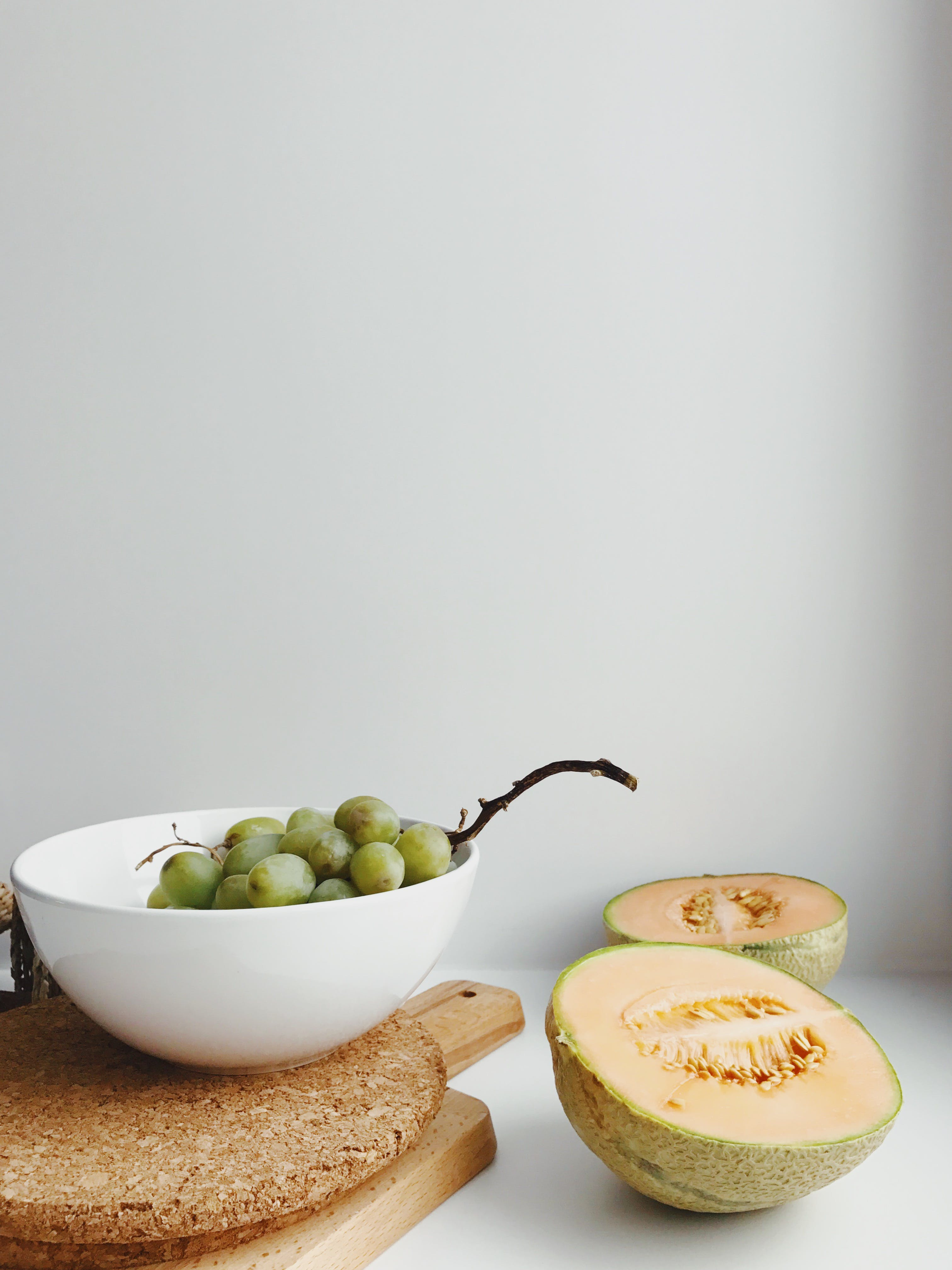 Green Fruits in Bowl