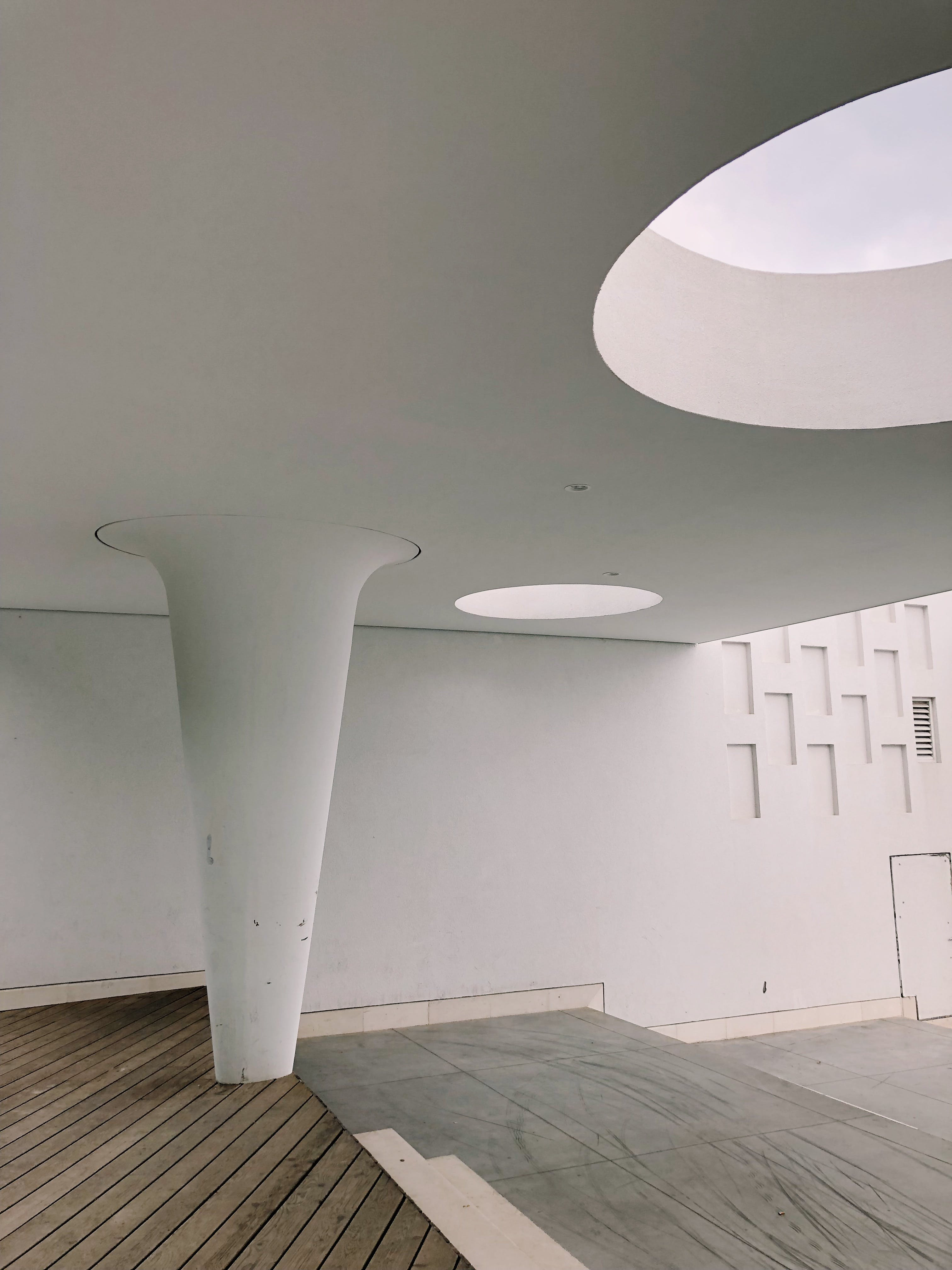 White Painting Wall