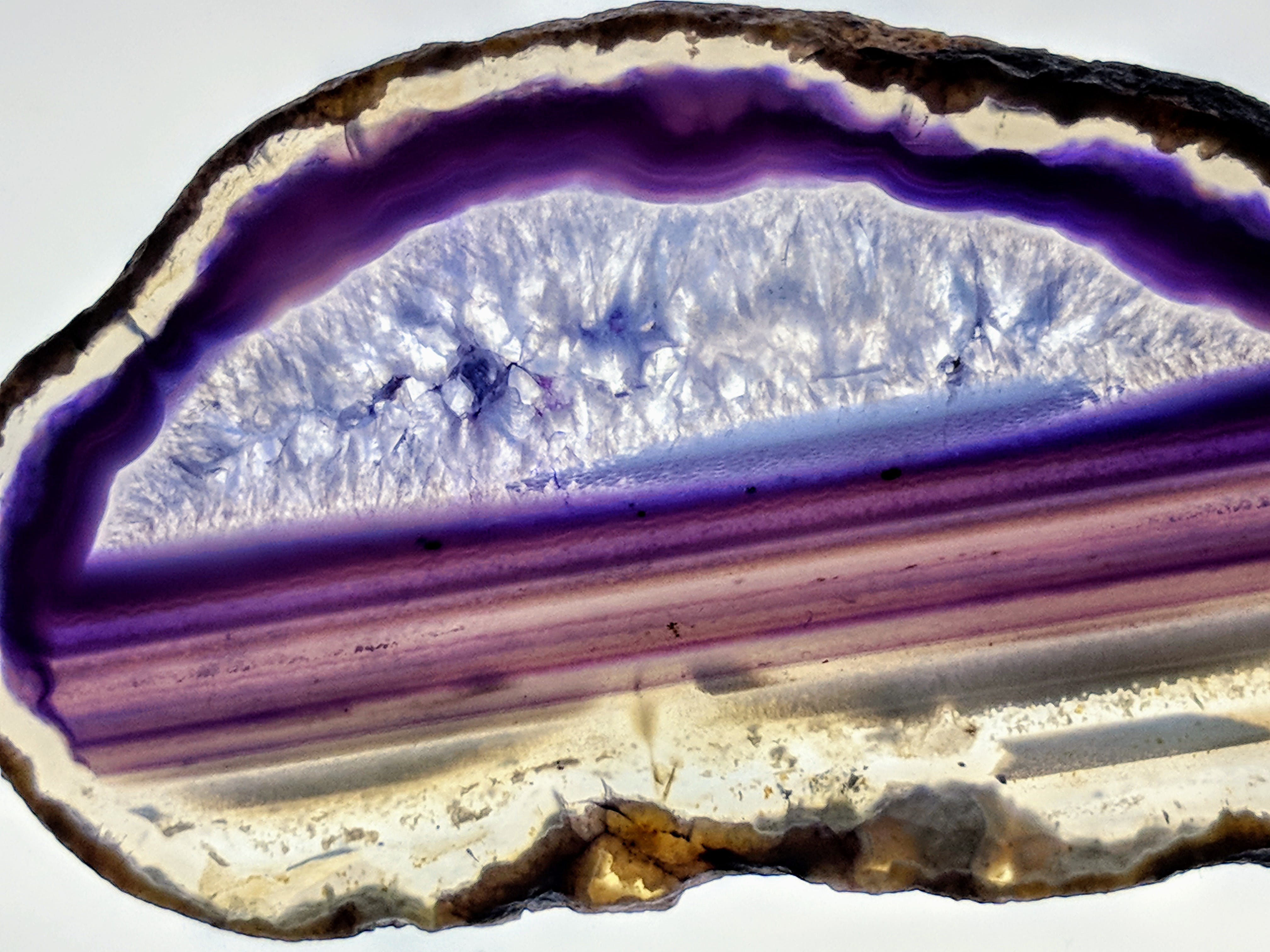 Free stock photo of purple, agate, amethyst, purple agate