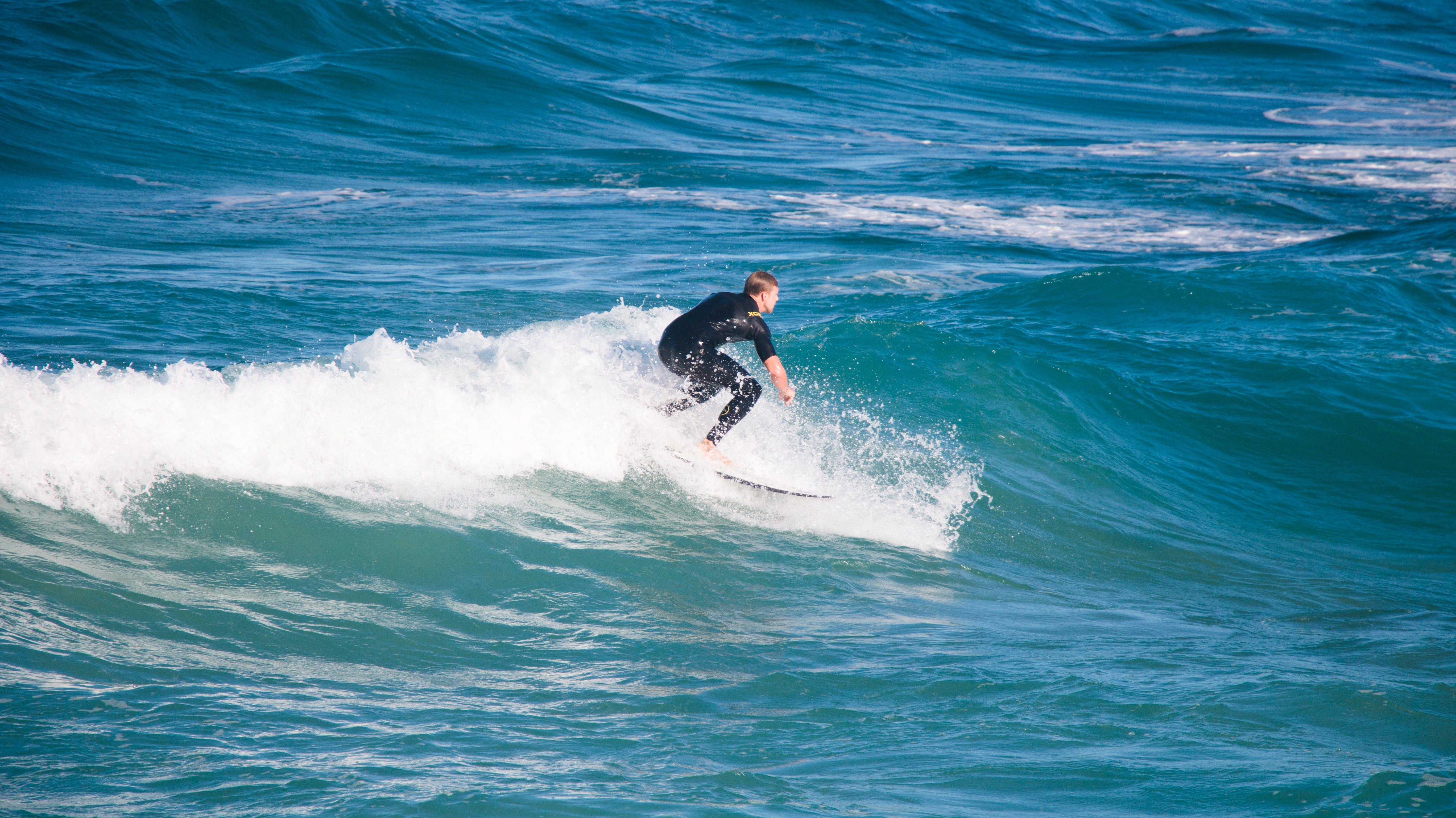 Free stock photo of active, adventure, boy, surfing
