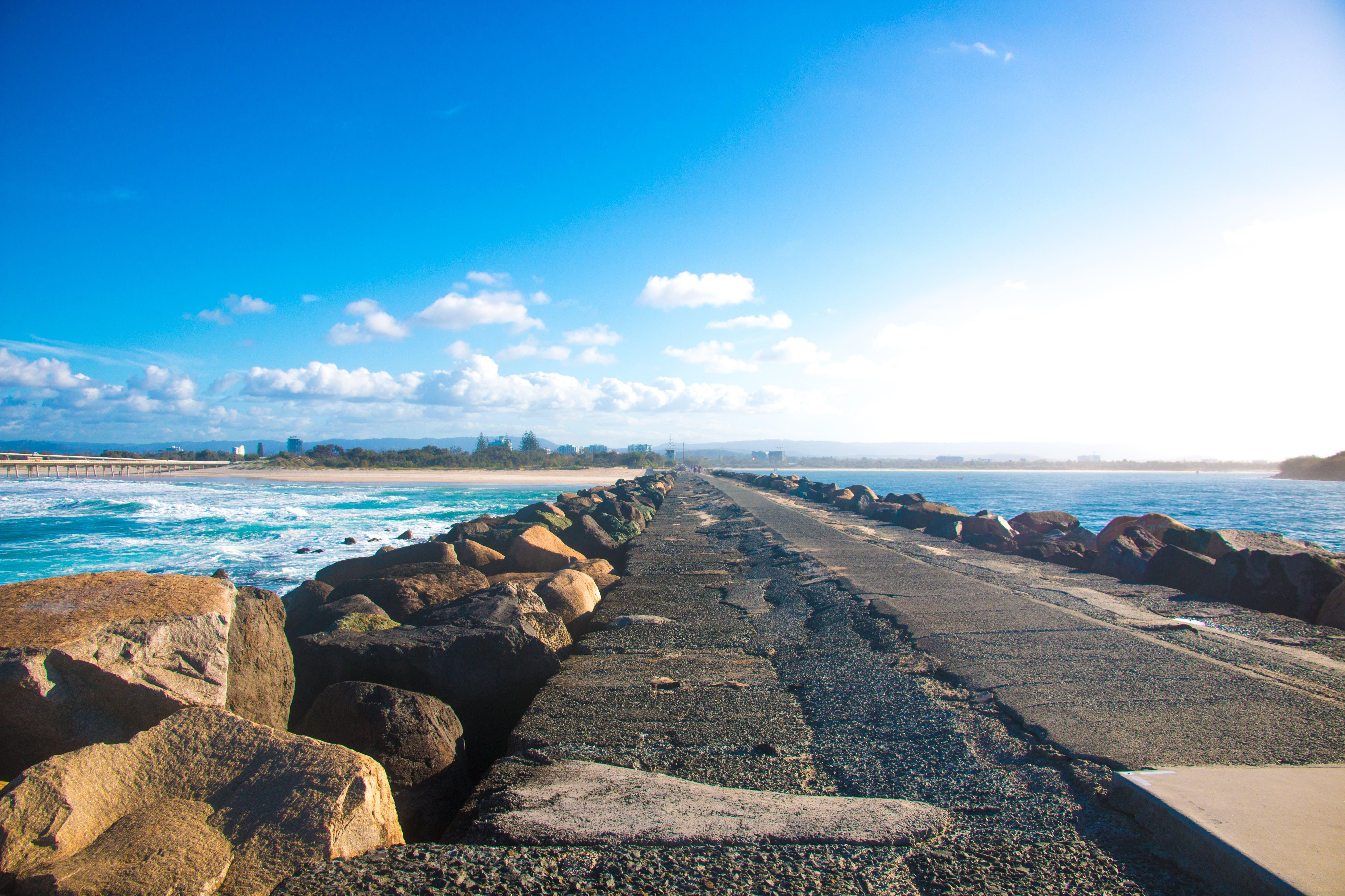 Free stock photo of beach, natural, nature, sky