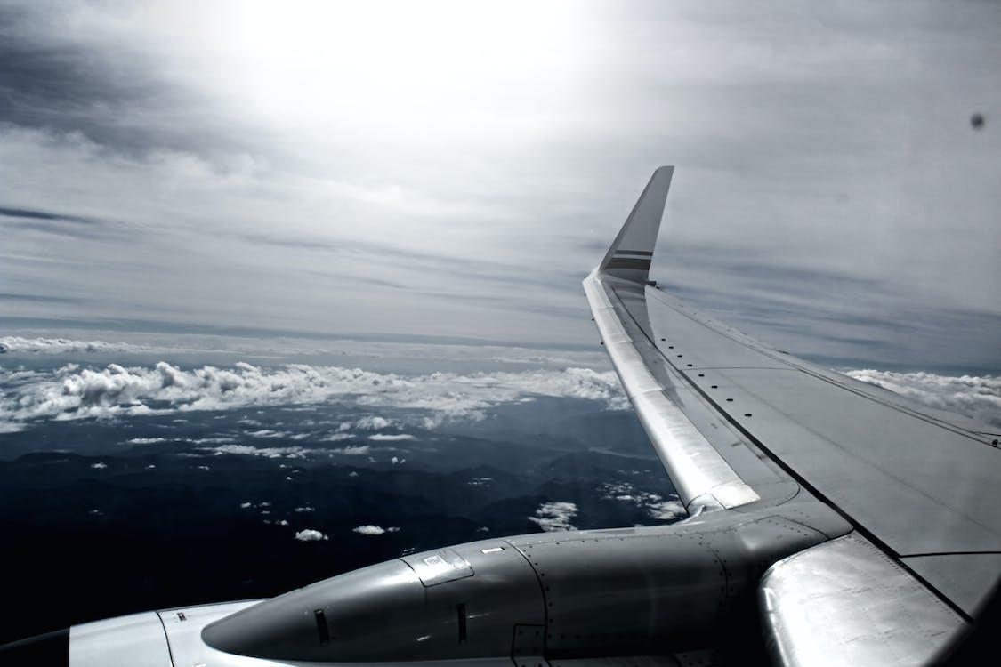 avion, ciel, vol