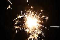 new year's eve, sparkler, december 31